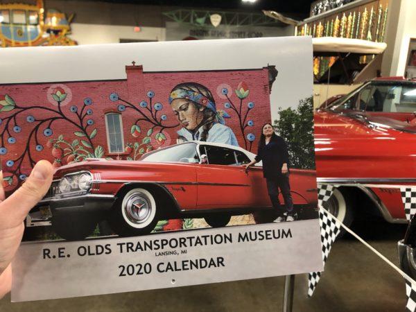 2020 R.E. Olds Museum Calendar