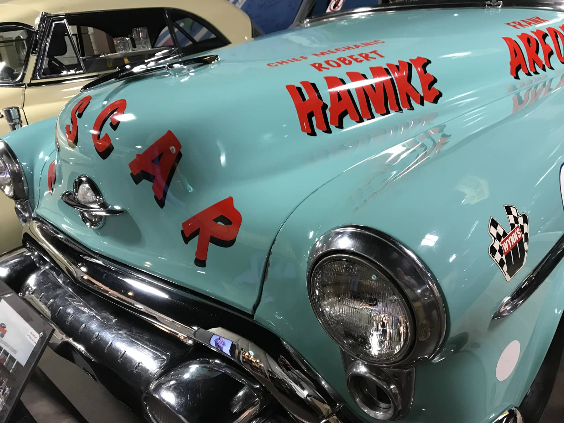 1953 Oldsmobile NASCAR Race Car